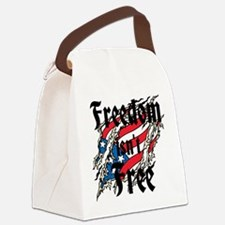 Freedom Isnt Free Canvas Lunch Bag