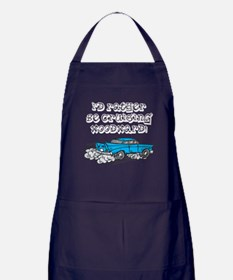 Id Rather Be Cruising Woodward Hotrod Apron (dark)