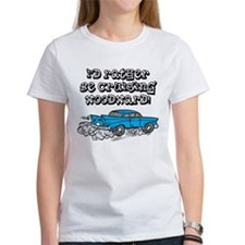 Id Rather Be Cruising Woodward Hotrod Tee