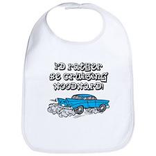 Id Rather Be Cruising Woodward Hotrod Bib