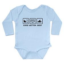 Acupuncture Long Sleeve Infant Bodysuit