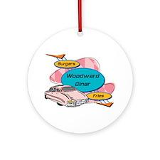 Woodward Diner Ornament (Round)