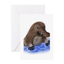 Platypus - ZooWhirlz Greeting Card