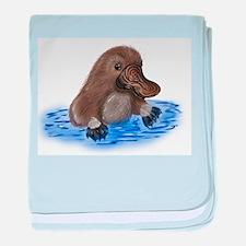 Platypus - ZooWhirlz baby blanket