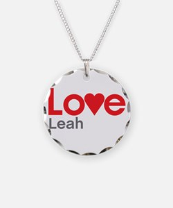 I Love Leah Necklace