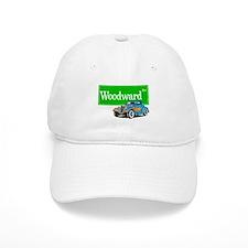Woodward Blue Hotrod Baseball Cap