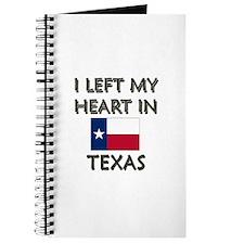 I Left My Heart In Texas Journal