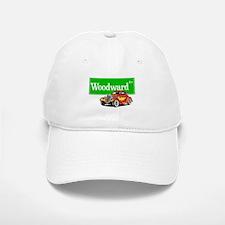 Woodward Red Hotrod Baseball Baseball Cap
