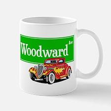Woodward Red Hotrod Mug