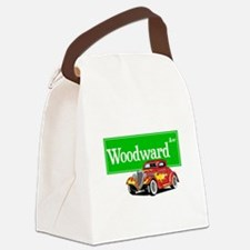 Woodward Red Hotrod Canvas Lunch Bag