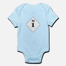 Michigan Route 1 Infant Bodysuit