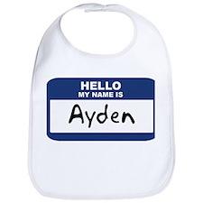 Hello: Ayden Bib