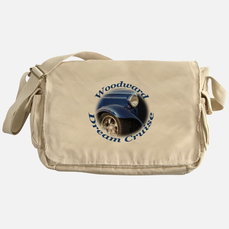 Woodward Dream Cruise Messenger Bag