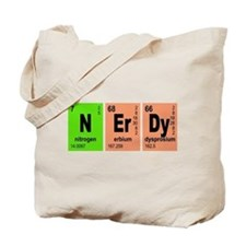 NErDy Elements Geeky Tote Bag