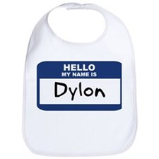 Hello: Dylon Bib