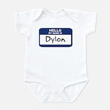 Hello: Dylon Infant Bodysuit