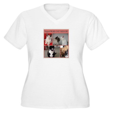 Group of Kitties 2 Plus Size T-Shirt