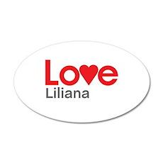 I Love Liliana Wall Decal