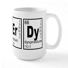 NErDy Elements Geeky Mug