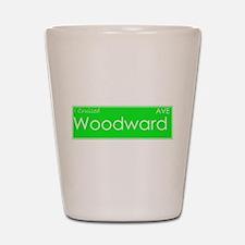 Cruised Woodward Ave Shot Glass