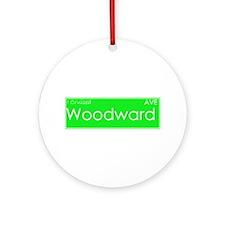 Cruised Woodward Ave Ornament (Round)