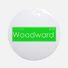 Cruised Woodward Ave Ornament (Round)
