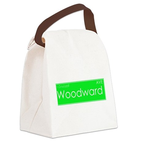 Cruised Woodward Ave Canvas Lunch Bag