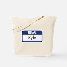 Hello: Kyle Tote Bag