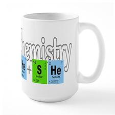 Chemistry He She Elements Mug