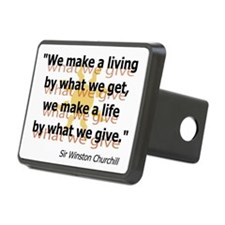 Churchill What We Give Hitch Cover