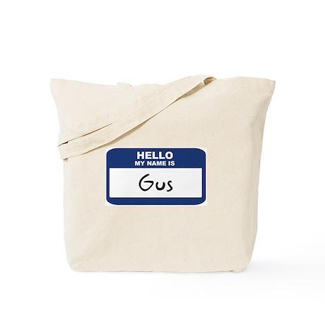Hello: Gus Tote Bag