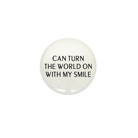Can Smile Mini Button