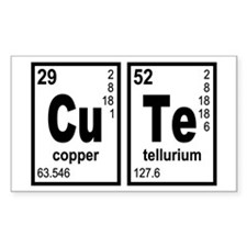 Cute Elements Geeky Decal