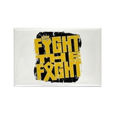 Fight The Fight Appendix Cancer Rectangle Magnet