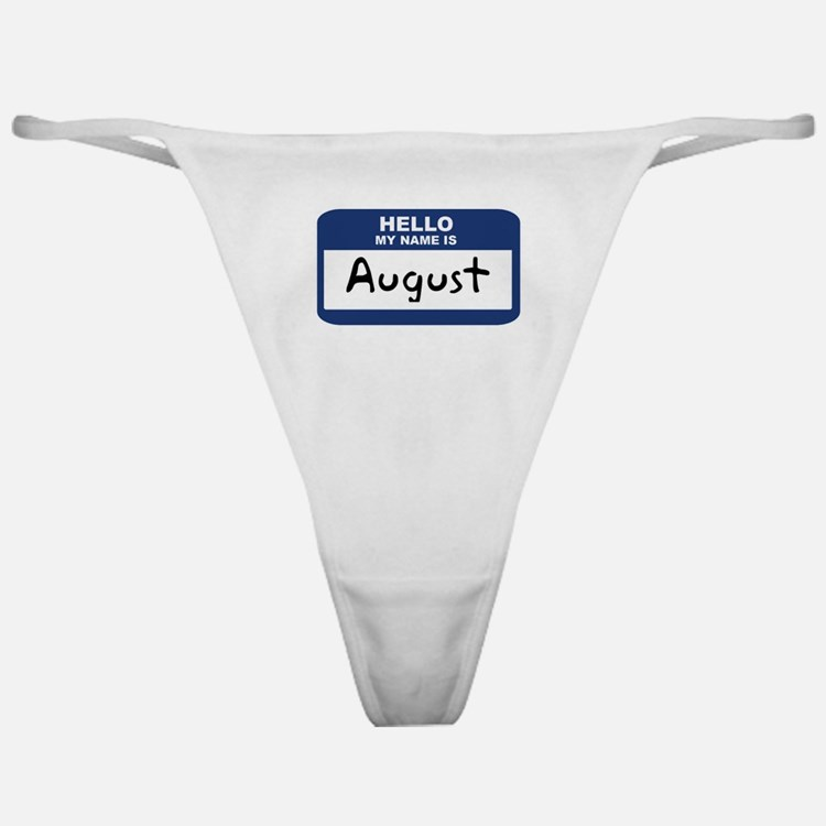 Hello: August Classic Thong