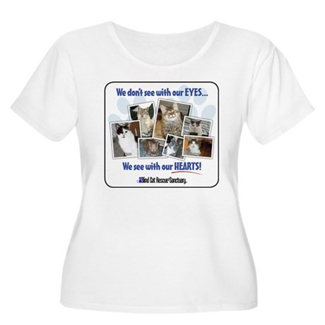 We see with our hearts Plus Size T-Shirt