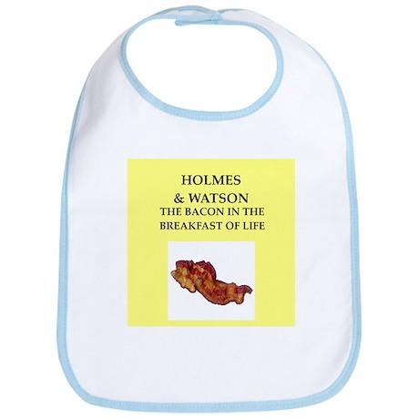 holmes and watson Bib