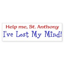 St. Anthony Bumper Bumper Sticker