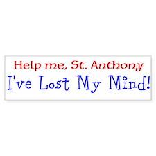 St. Anthony Bumper Car Sticker