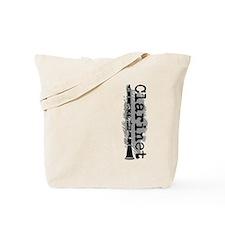 Clarinet Vertical Tote Bag