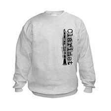 Clarinet Vertical Sweatshirt