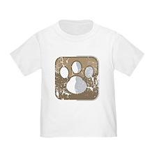Tatze-Symbol (used) T-Shirt