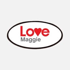 I Love Maggie Patches