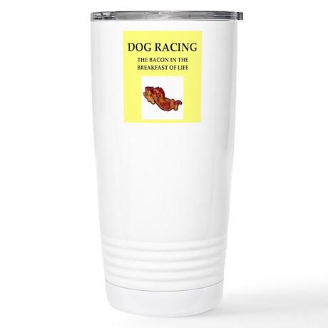 dog racing Travel Mug