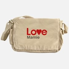 I Love Mamie Messenger Bag