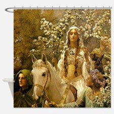 Queen Guinevere by Collier Shower Curtain