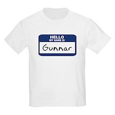 Hello: Gunnar Kids T-Shirt