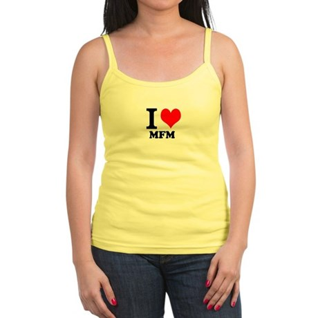 Heart Threesome Spaghetti Tank