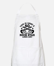 50 Year Old Rock Star Apron