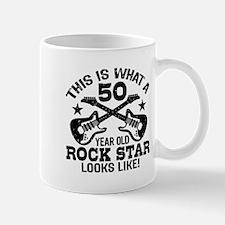 50 Year Old Rock Star Mug